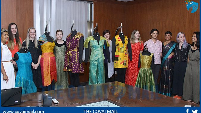Bit Provides Textile Practicum For New Zealand Students The Covai Mail